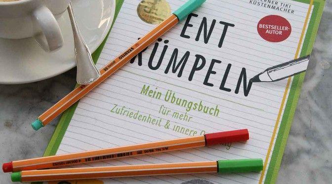 """<b>""""Entrümpeln – Mein Übungsbuch""""</b>"""