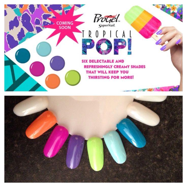 Supernail progel gel polish tropical pop x