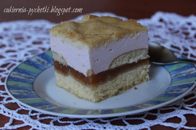 Cukiernia Pychotki: Ciasto z jabłkami i śmietanową pianką