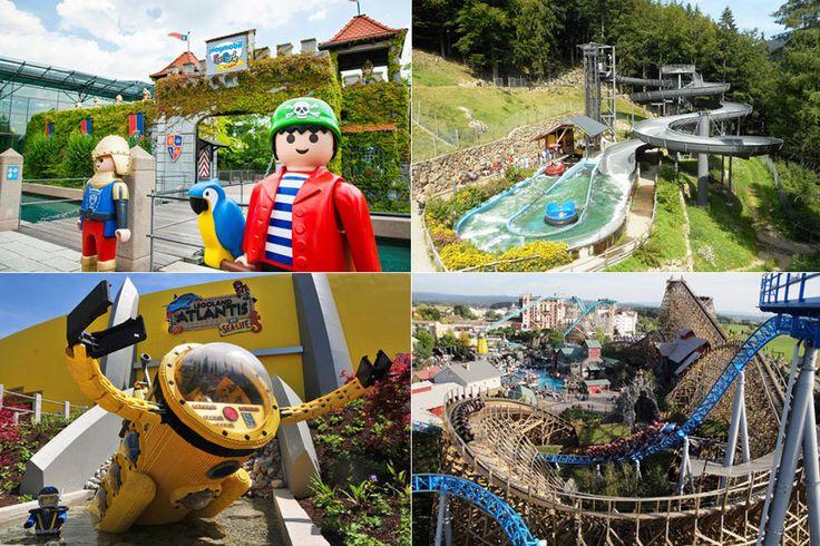 Freizeitparks: Die 10 besten Erlebnisparks in Deutschland und Europa