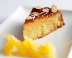 Almond and orange cake from Michel Roux Jr