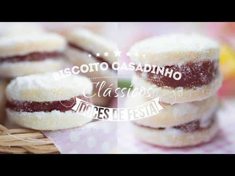 BISCOITO CASADINHO DE GOIABADA | I Could Kill For Dessert 88 #ICKFD - YouTube