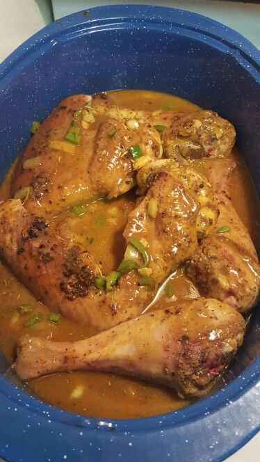 Curried Turkey wings and gravy                              …