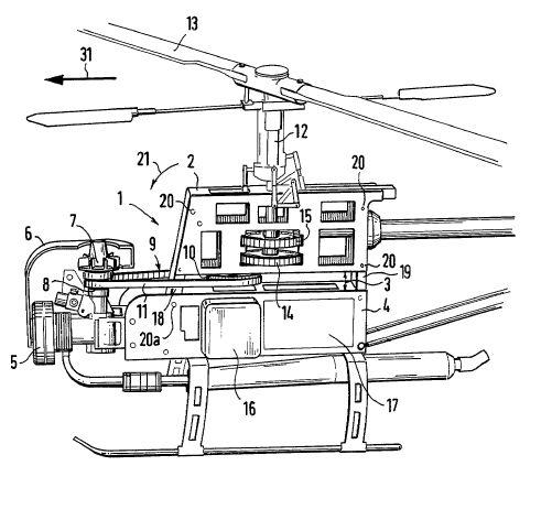 Modellhubschrauber Technik
