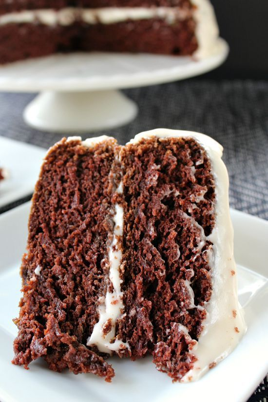 Chocolate Avocado Zucchini Cake - I decided I would use avocados in place of dairy, and I might as well throw in some zucchini! What a winning combination!!