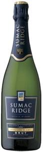 Sumac Ridge Steller's Jay Brut Sparkling Wine 2006, VQA Okanagan Valley, British Columbia, Méthode Classique Bottle