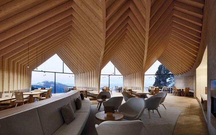Obereggen Mountain Hut in Italian Alps – Fubiz Media