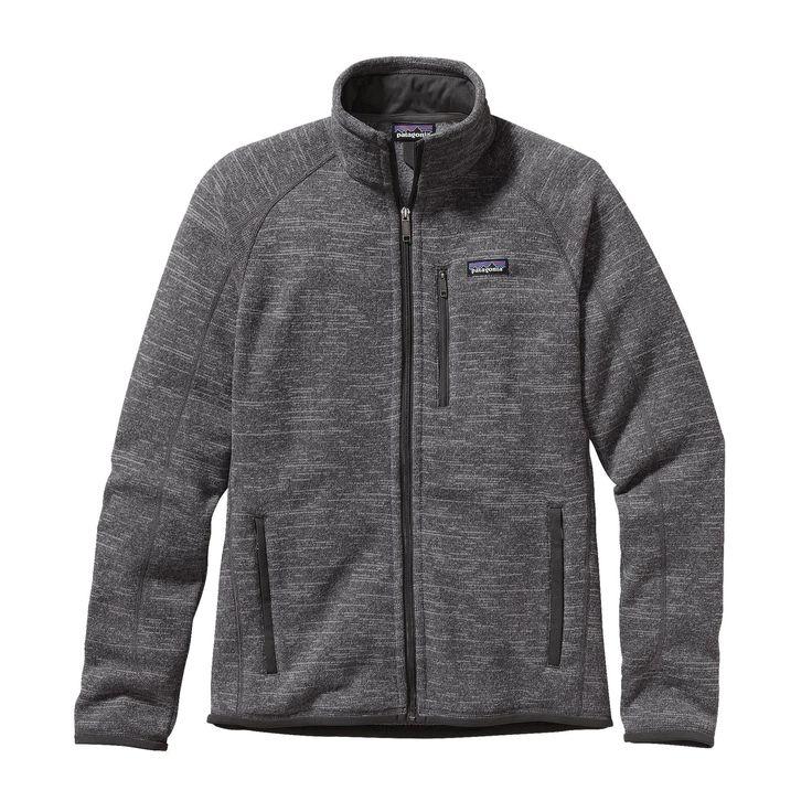 メンズ・ベター・セーター・ジャケット   Men's Better Sweater Jacket   パタゴニア   オンラインショップ   アウトドアウェア   Nickel w/Forge Grey