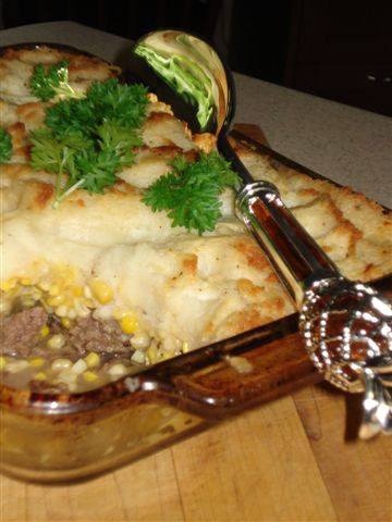 Pâté Chinois Recipe: This is a traditional dish in Québéc even though it is, of course, a take on Shepherd's Pie.