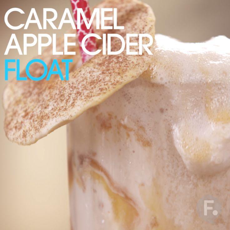 Caramel Apple Cider Float                                                                                                                                                                                 More