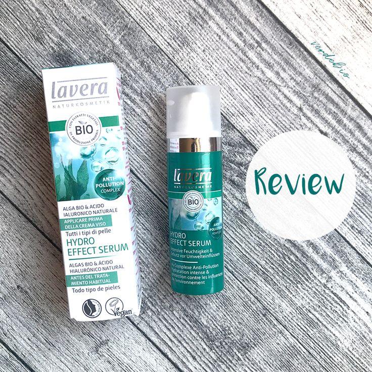 Vi racconto la mia esperienza con il NUOVO Siero Hydro effect di Lavera, un prodotto idratante e leggero.  #verdebio #lavera #prodottibio #ecobio #cosmeticinaturali #natrue