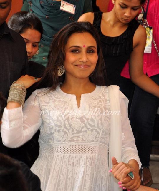 Rani Mukerji at the launch of Times Green Ganesha in Mumbai 2012 Sep
