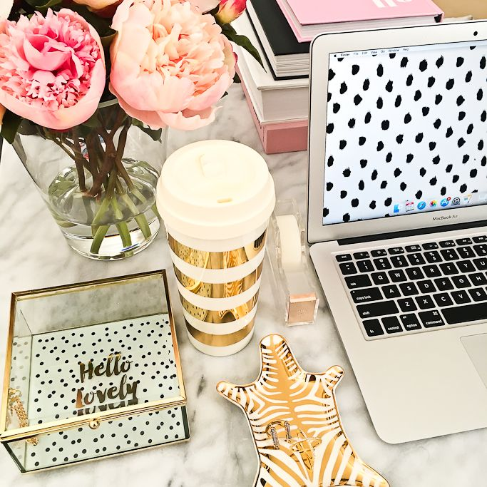 best 25+ gold desk accessories ideas on pinterest | gold office