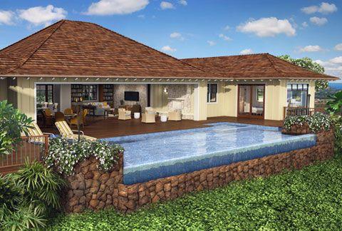 Kauai/Hawaii/Kukui'ula/Infinity Edge Pool