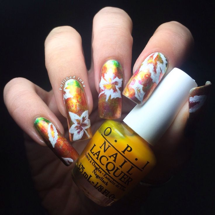 607 best yellow nails images on Pinterest | Yellow nails, Nail ...