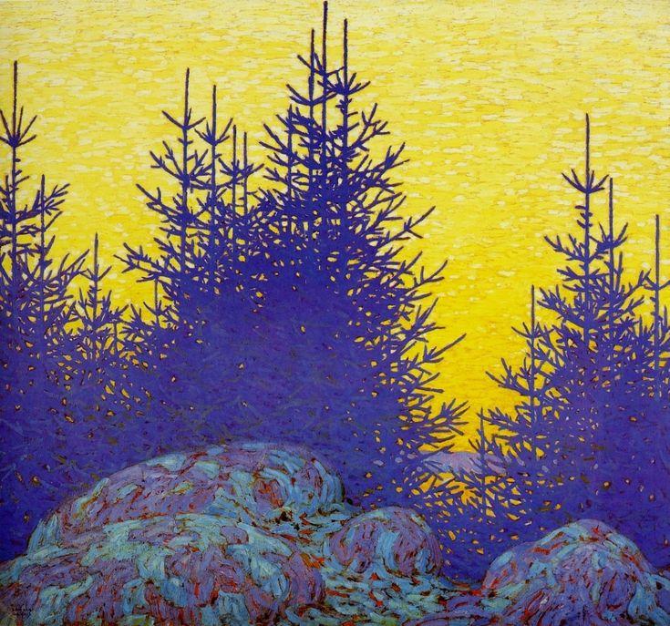 LawrenHarris, Decorative Landscape, 1917