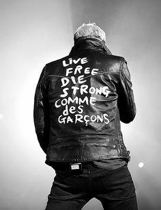 """COMME des GARÇONS x Lewis Leathers """"LIGHTNING"""""""