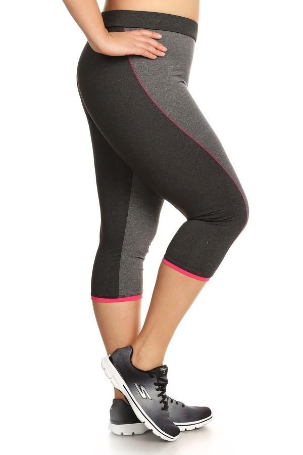 Bondi Band offers running / sports capris for girls with curves --- and larger sizes too. Cute stuff!  #runderdog