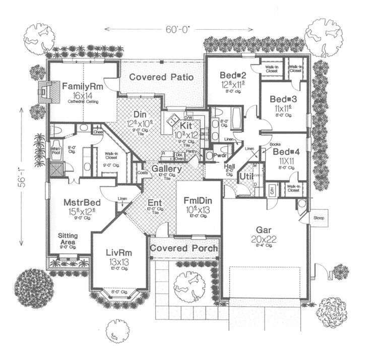 Palmer Tudor Ranch Home House Plans Victorian And