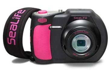 Limited Edition Pink SeaLife underwater camera - proceeds go to cancer research