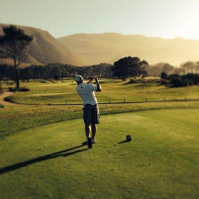 Sunrise on Hermanus golf course! #hermanus #golf #thedream  http://instagram.com/andrecoetzer 21 March 2014