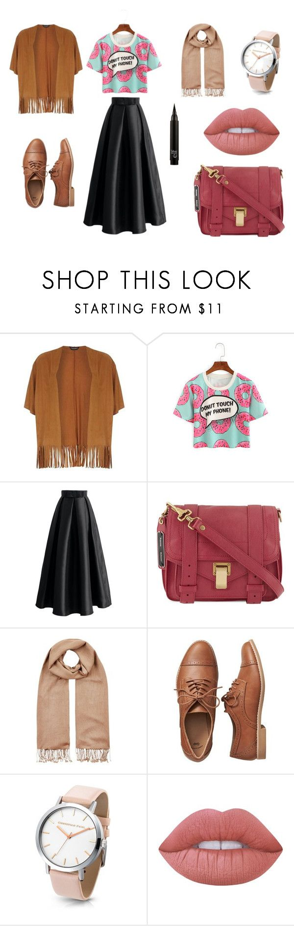 """""""hijab chic"""" by ikram-etsku on Polyvore featuring Dorothy Perkins, Chicwish, Proenza Schouler, Harrods, Gap and Lime Crime"""