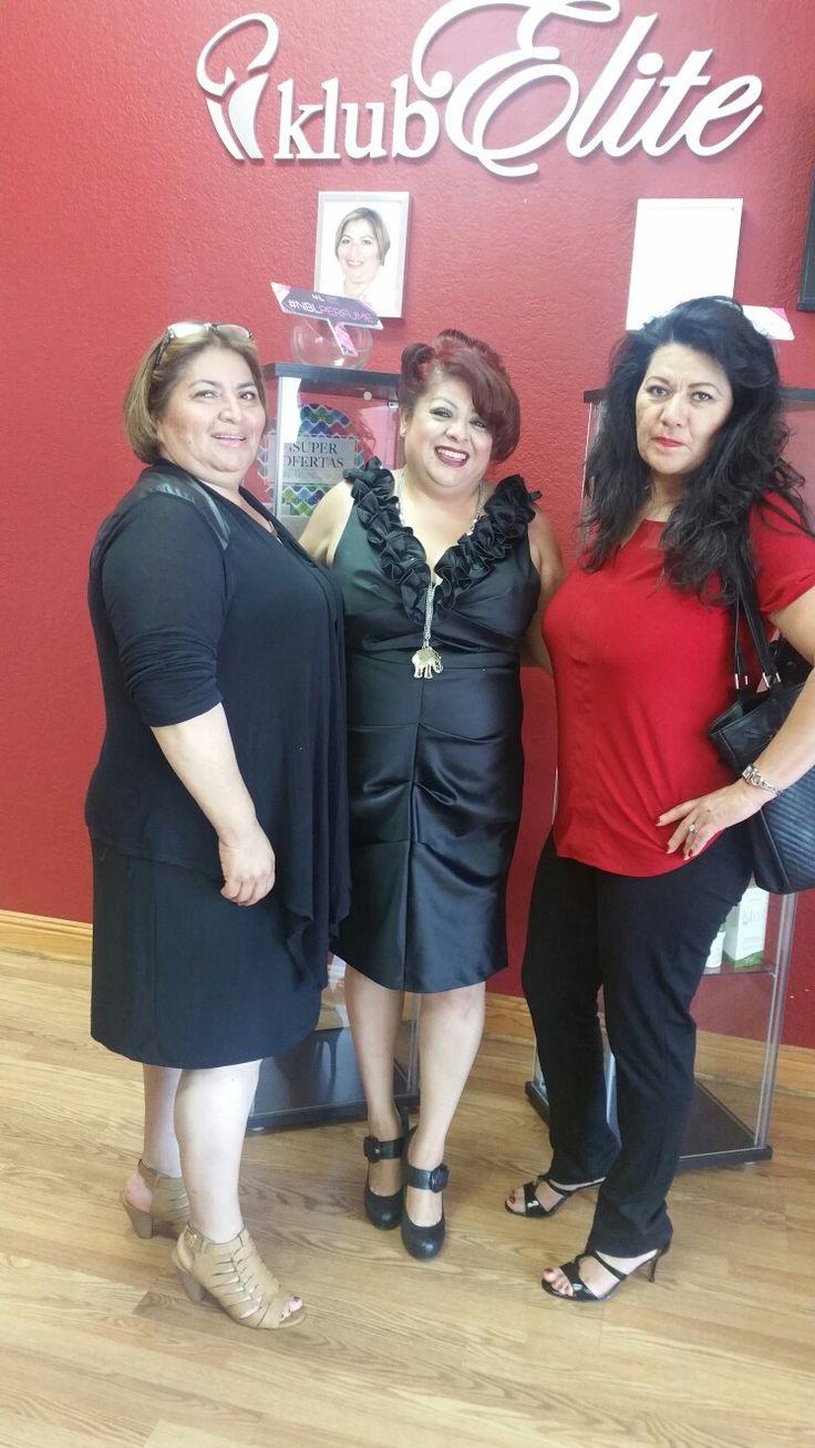 Maria Galvez Master Elite,  Alma Lilia Ortiz-Lider,  Mary Vargas-Supervisor @ Alicia Machado Reunion Conference!