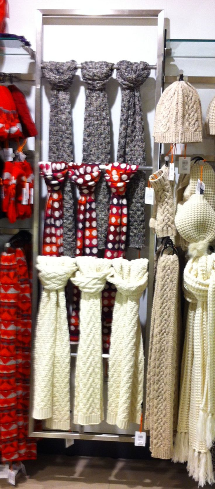 17 Best Images About Scarf Display Ideas On Pinterest