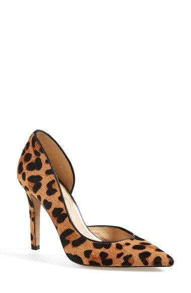 Free shipping and returns on Jessica Simpson 'Claudette' Pump at Nordstrom.com. A trend-right single-sole stiletto features a pretty half d'Orsay silhouette.
