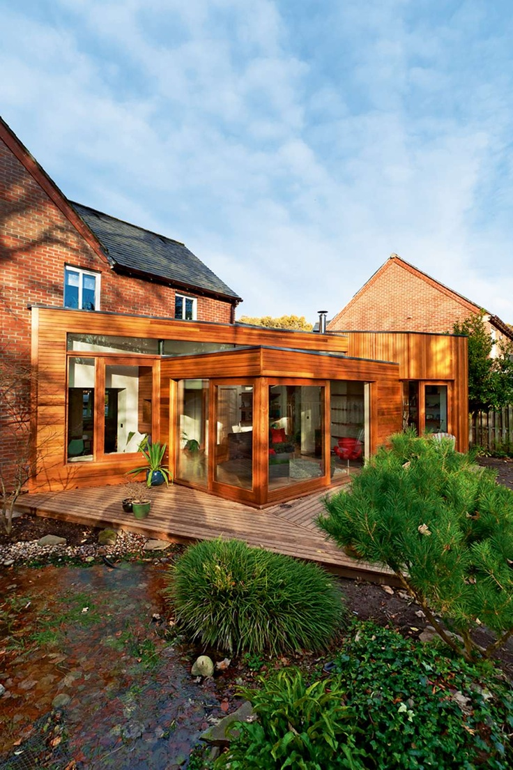 A Cedar-Clad Extension | Homebuilding & Renovating