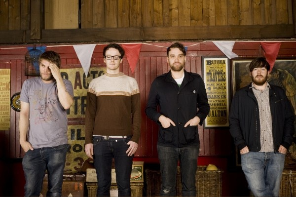 """Now you can hear the sublime studio-recorded version of the new Frightened Rabbit song """"State Hospital"""", taken from their brand new EP!"""