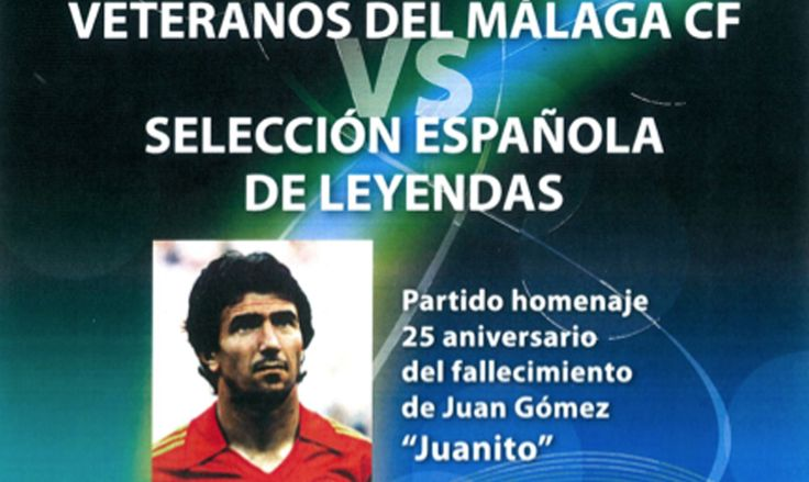 El partido de la Selección española de Leyendas completará el regreso a Málaga de los internacionales | SEFutbol