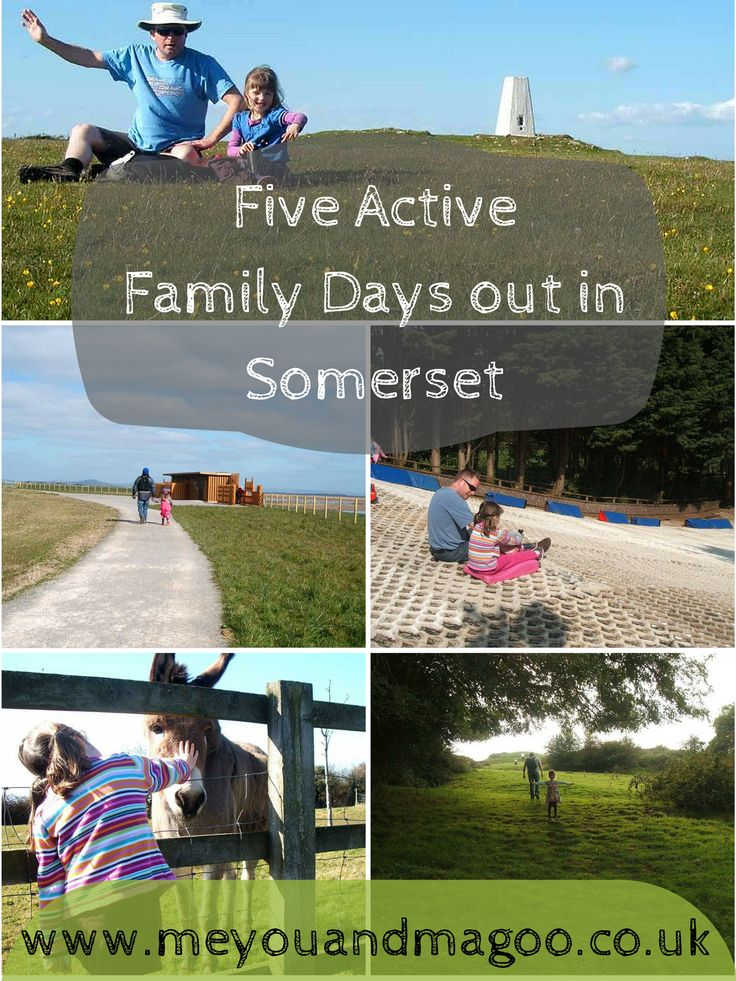 http://www.meyouandmagoo.co.uk/2015/07/five-active-family-days-out-in-somerset.html School's out for Summer...so what are we going to do today? Over the past eighteen months we've had lots of fantastic days out in our local area. Somerset is a beautiful county. There's something for everyone, coastal areas, farmland, hill walking and tons of pretty towns and villages. Here are our top 5 active family days out in Somerset.