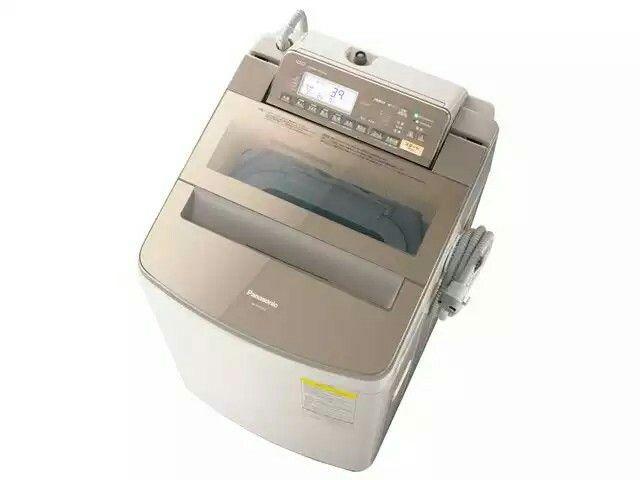パナソニック 縦型洗濯乾燥機 すっきりフロント