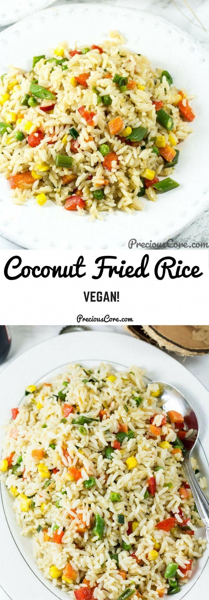 Coconut Fried Rice is pure fried rice epicness. Make this for dinner or for part…