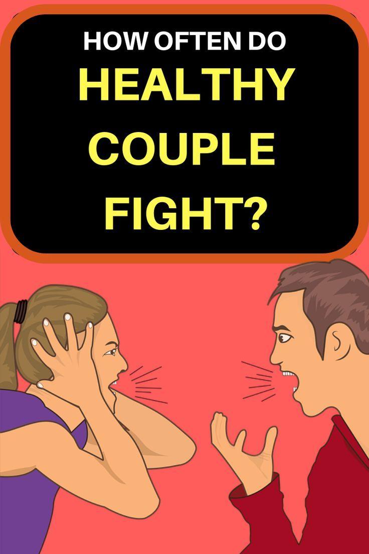 How often do couples fight