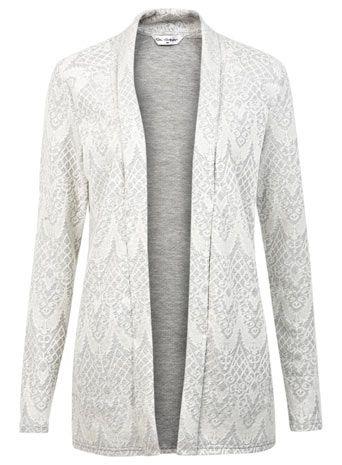 MISS SELFRIDGE- Jacquard Edge To Edge Jacket - Coats & Jackets  - Clothing MISS SRIDGE