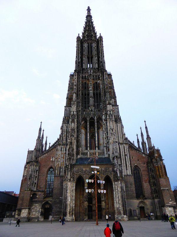 Ulmer Münster - mit Narrenbaum - Der Westturm. Das WESTPORTAL. | Flickr – Compartilhamento de fotos!