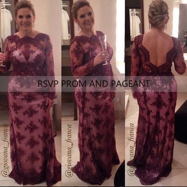 wine colored plus size dresses - gaussianblur