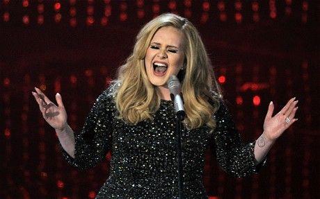 "Adele Takes Home Oscar for ""Skyfall"""