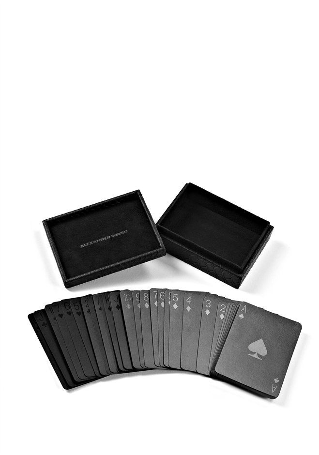 Playing Cards With Snakeskin Embossed Case Thumb