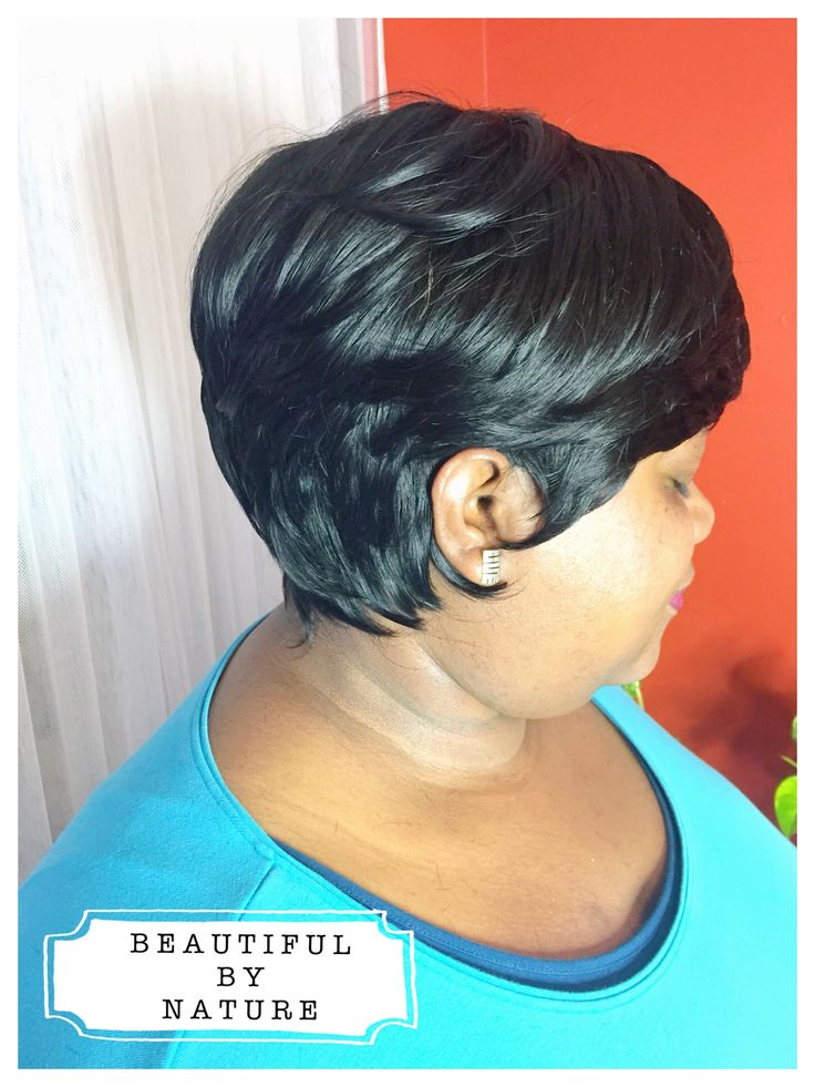 BUMP hair extensions pixie hairstyle Instagram @_beautiful.by.nature_