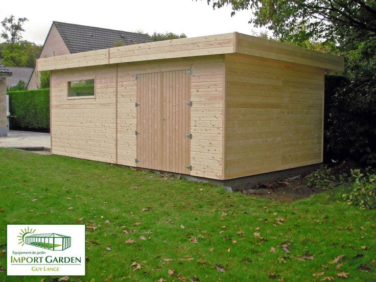 Le #garage moderne en #bois naturel : un compromis entre #design et tradition ?