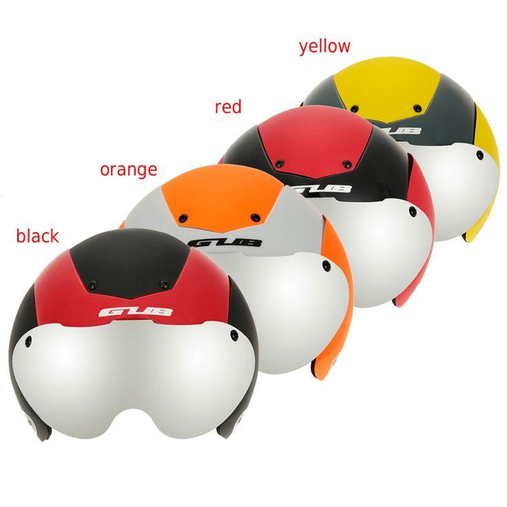 Capacete Ciclismo Ciclismo casco con gafas cabeza proteger Integralmente moldeado cascos de bicicleta Mountain Road Bike Helmet