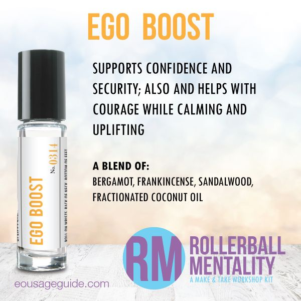 Ego Boost Rollerball Mentality Blend Great For Confidence