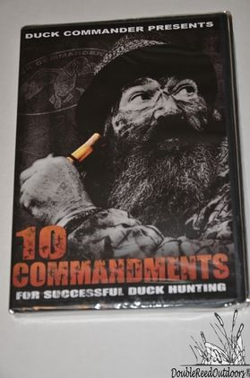 Duck Commander Calls DVD - The TEN COMMANDMENTS For Successful Duck Hunting