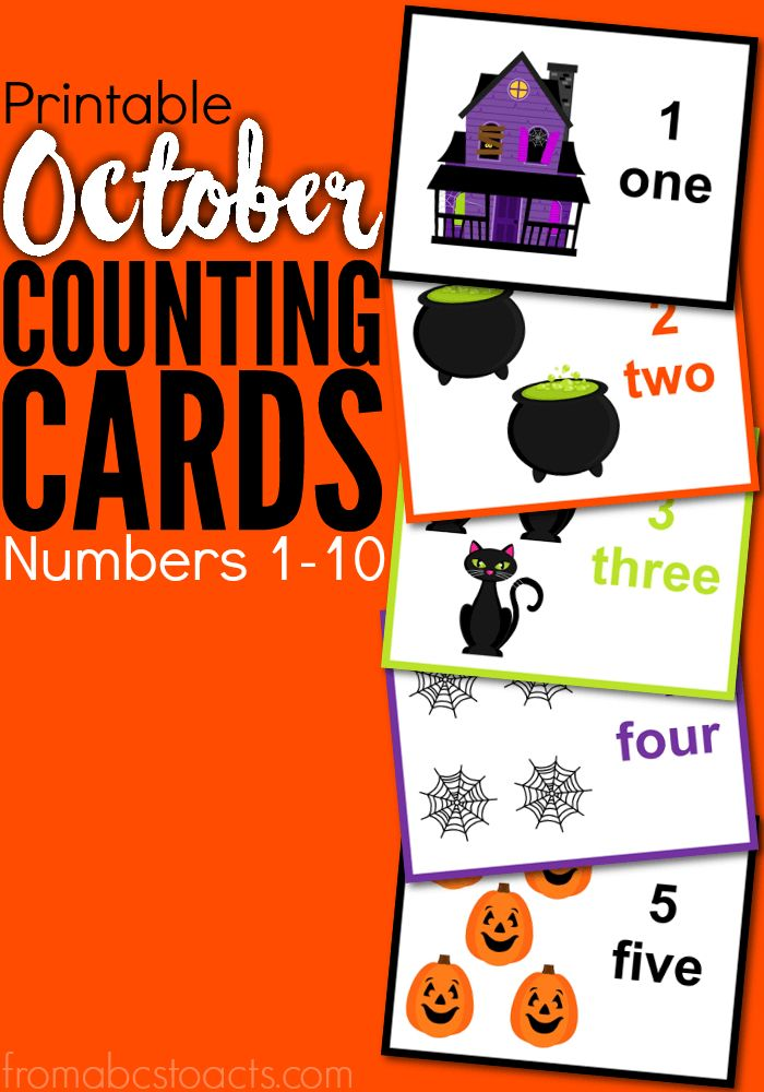 count your way through the month of october with your toddler or preschooler and a set
