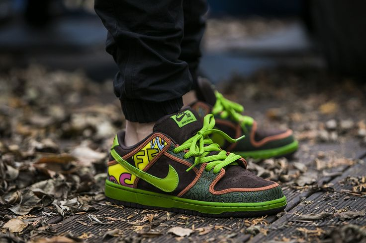 """Buty Nike Dunk Low Premium SB QS """"De La Soul"""" (789841-332) - www.worldbox.pl"""
