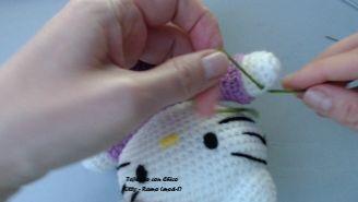 Tejiendo con Chico: Hello Kitty 5