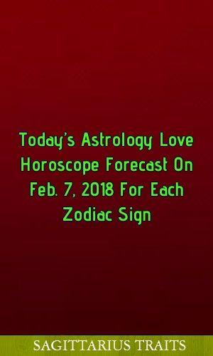 My Today's Horoscope